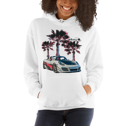 Boxster On The Beach Hooded Sweatshirt