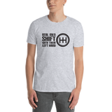 Real Men Shift With Their Left Hand Unisex T-Shirt
