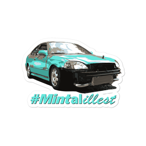 #Mintalillest Stickers