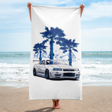 Godzilla on the Beach Towel