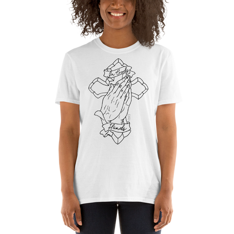 "Boardman 'In God's Hands"" Tattoo Unisex T-Shirt"