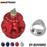 Univeral 50mm Blow off valve BOV Turbo Adapter with flange