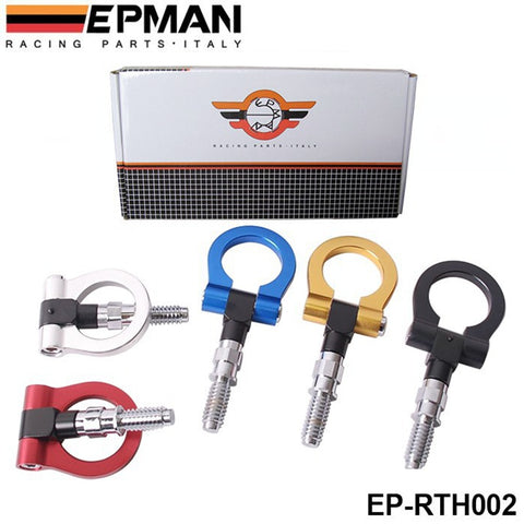 EPMAN - Racing Billet Aluminum Tow Hook Front Rear For BMW European