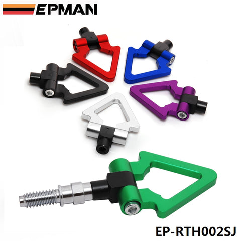 EPMAN - Racing Billet Aluminum Triangle Ring Tow Hook Front Rear
