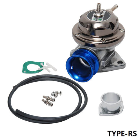Universal Type-RS Turbo Blow off Valve Adjustable 25psi - Blue BOV TYPE-RS