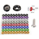 M6 Pad Screws JDM Protection Pad Bolts Fender License Plate