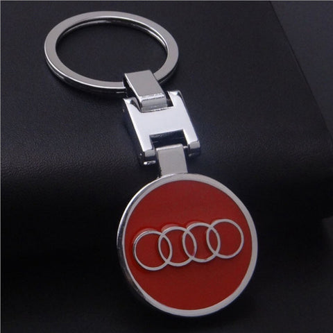 1PCS Metal Car-styling Car Key Ring Cover Key Chain