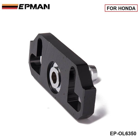 1PC Black Turbo Fuel Rail Delivery Regulator Adapter For Regulator Fit for Honda EP-OL6350 (1PC)