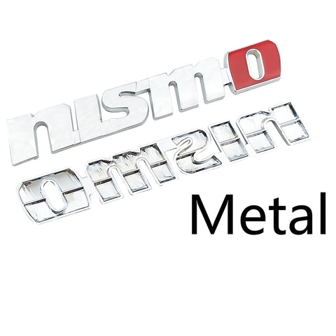 Metal NISMO Nismo 3D Auto Car Badge Emblem