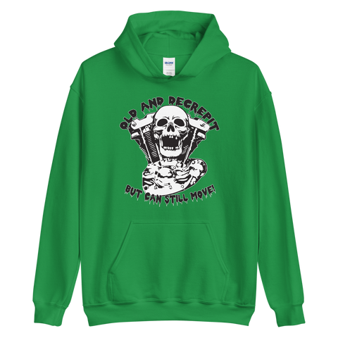Old and Decrepit Ironhead Unisex Hoodie