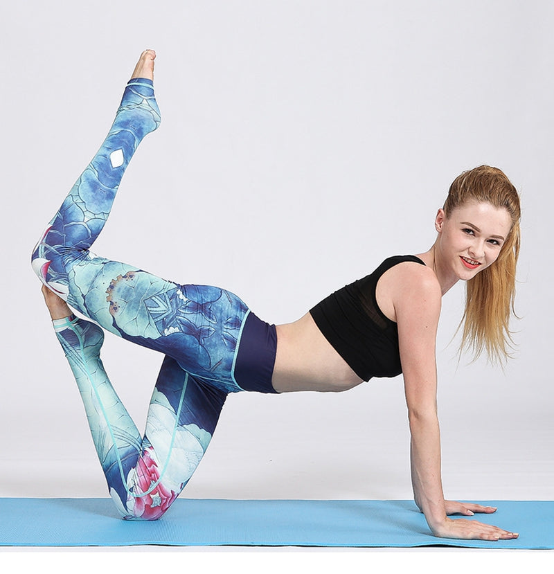 Super-Stretch Orchid Yoga Pants