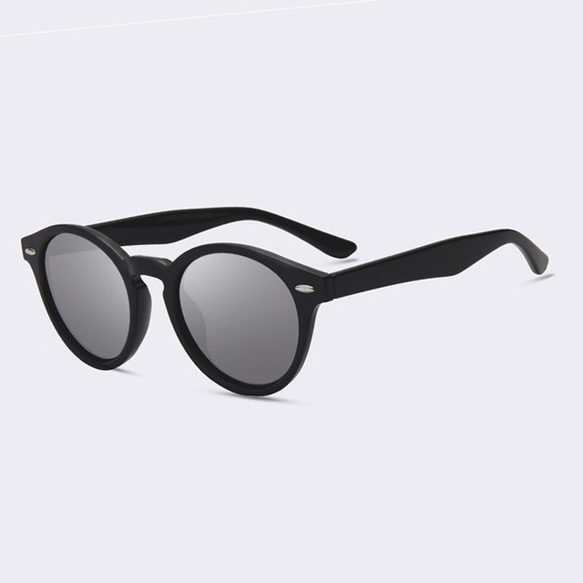 Oval Round Polarized Sunglasses