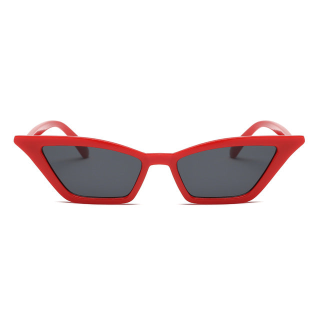 Rectangle Cat-Eye Sunglasses