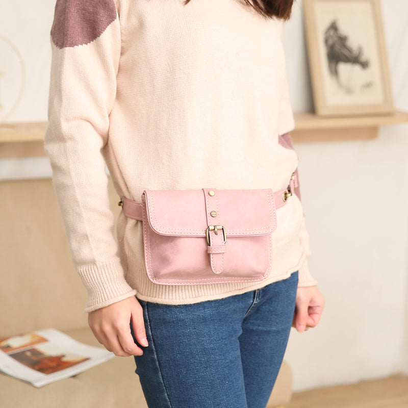 Designer PU Leather  Waist Bag / Fanny Pack