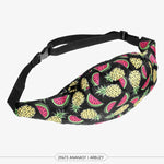 Pineapple Watermelon waist bag / fanny pack
