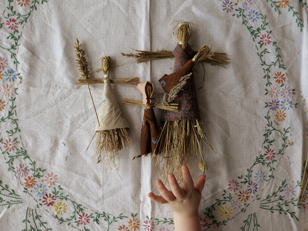 APOLINA MAKES: Grass dollies