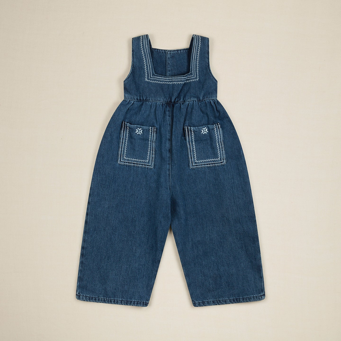 BONNIE DUNGAREE - DENIM