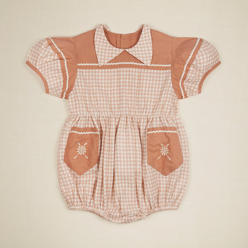 NELLIE PLAYSUIT - PICNIC CHECK