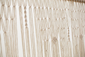 The House Phoenix cream macrame wedding hanging