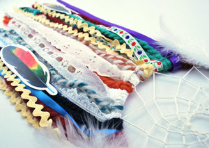 Creative Colorful DIY Dream Catcher Craft Kit for Girls or Boys - The House Phoenix