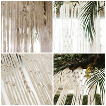 To The Moon and Back Large Handmade Yarn Macrame Wedding Hanging - The House Phoenix