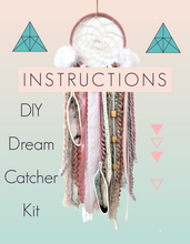 Pretty Pink DIY Dream Catcher Craft Kit