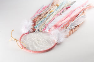Pretty Pink DIY Dream Catcher Craft Kit - The House Phoenix