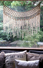 The House Phoenix Bohemian Handmade Yarn Macrame Wall Hanging Window Curtain