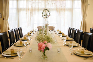 Ultra Luxury Large Statement Macrame Wedding Backdrop.  Customize by Width. - The House Phoenix