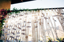 The House Phoenix macrame wedding backdrop