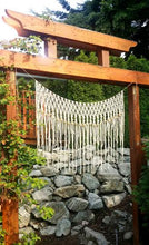 The House Phoenix Bohemian Hand Made Yarn Macrame Wall Hanging Window Curtain