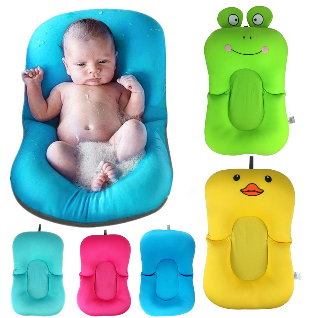 Floating Baby Bath Pillow Soft Seat Cushion Tub Pad for Newborn ...