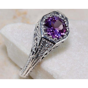 Exquisite Rings Fashion Jewelry Silver