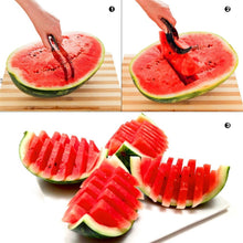 Watermelon Cutter Knife Cucumis Melon Cutter Chopper Fruit Salad Cucumber Vegetable Fruit Slicers Kitchen Cooking Tools Gadgets