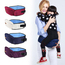 Baby Carrier Waist Stool Safety Walkers Baby Waiting Waist Belt Backpack Seat