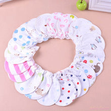 3 Pairs Soft Cotton Newborn Baby Infant Anti Scratch Mittens 0-6M