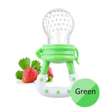 Portable Baby Bite Pacifier Food Nibbler Supplement for Fruits Vegetable Baby Feeder Nipple