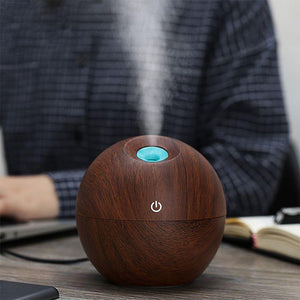 Assorted Colors Ultrasonic Essential Oil Diffuser