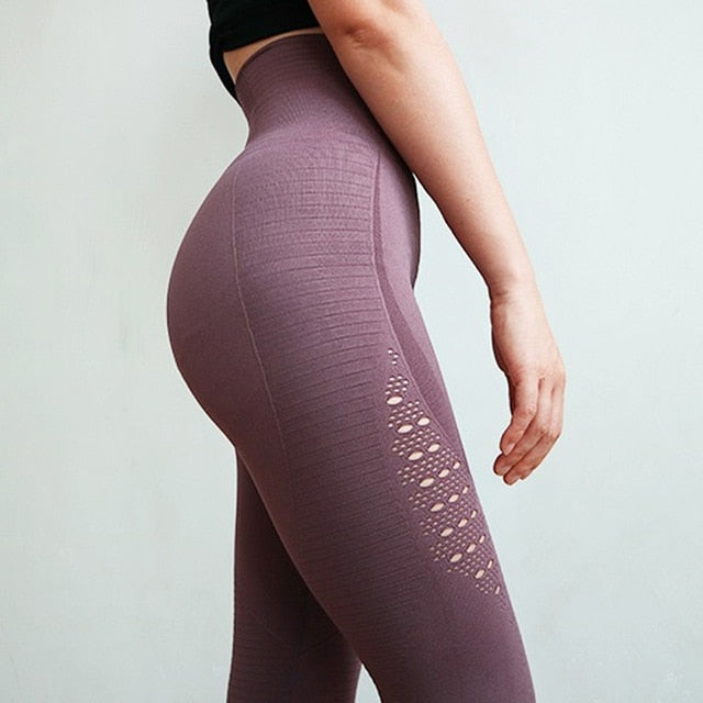 Women's Yoga/Fitness Seamless Leggings Full Length Style