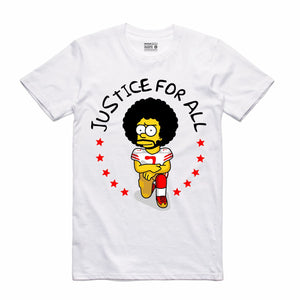 Kap Bart White T-Shirt (Bootleg Collection)