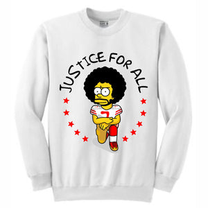 Kap Bart White Crewneck (Bootleg Collection)