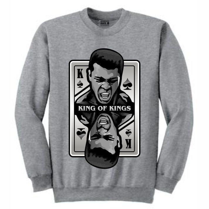 King of Kings Ali Grey Crewneck (Deck of Cards Collection)