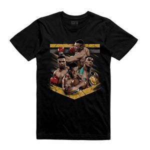 Mike Tyson Black T-Shirt (Tribute Collection)