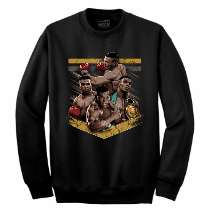 Mike Tyson Black Crewneck (Tribute Collection)