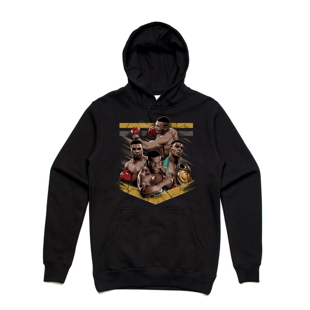 Mike Tyson Black Hoodie (Tribute Collection)