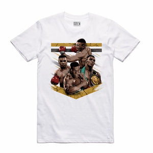 Mike Tyson White T-Shirt (Tribute Collection)