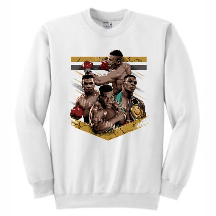 Mike Tyson White Crewneck (Tribute Collection)