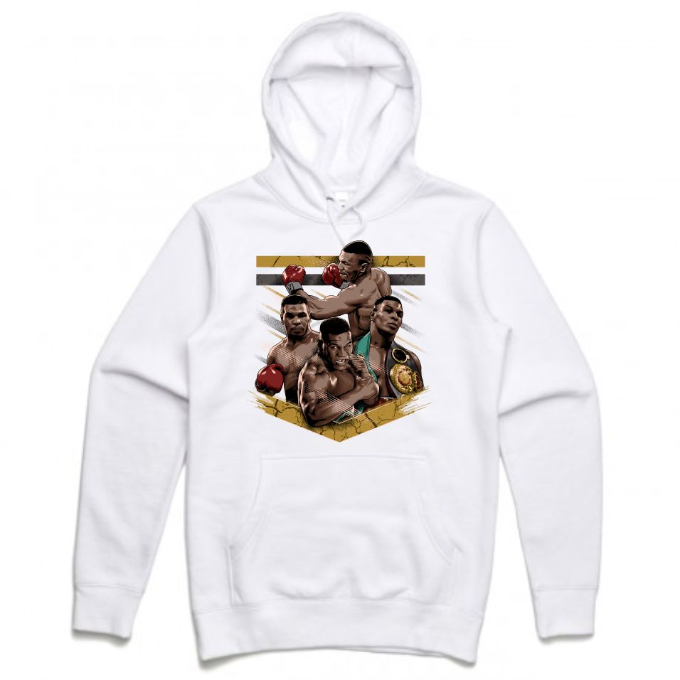 Mike Tyson White Hoodie (Tribute Collection)