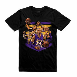 Mamba Black T-Shirt (Tribute Collection)