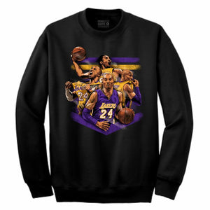 Mamba Black Crewneck (Tribute Collection)